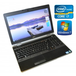 "Dell Latitude E6530 15.6"" i7 3520M 2.9GHz 8GB 320GB WEBCAM BLT WIN 7 Tast. Bel."