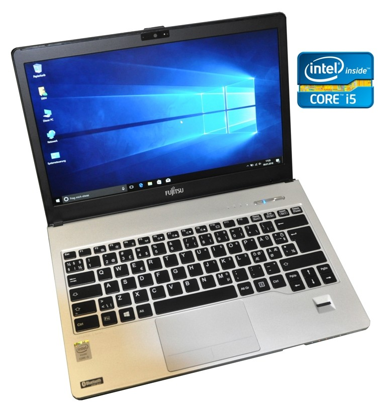 "Fujitsu Lifebook S904 13,3"" i5 4200U 1.6GHz, 8GB, 500GB FULL HD 1920 x 1080 WWAN WIN 10"