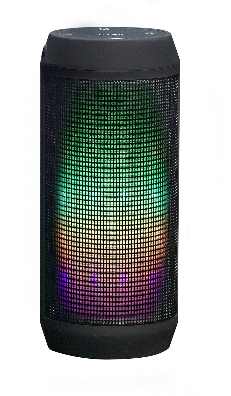 Wireless Bluetooth LED Lautsprecher Sound Box microSD Radio Telefonfunktion USB