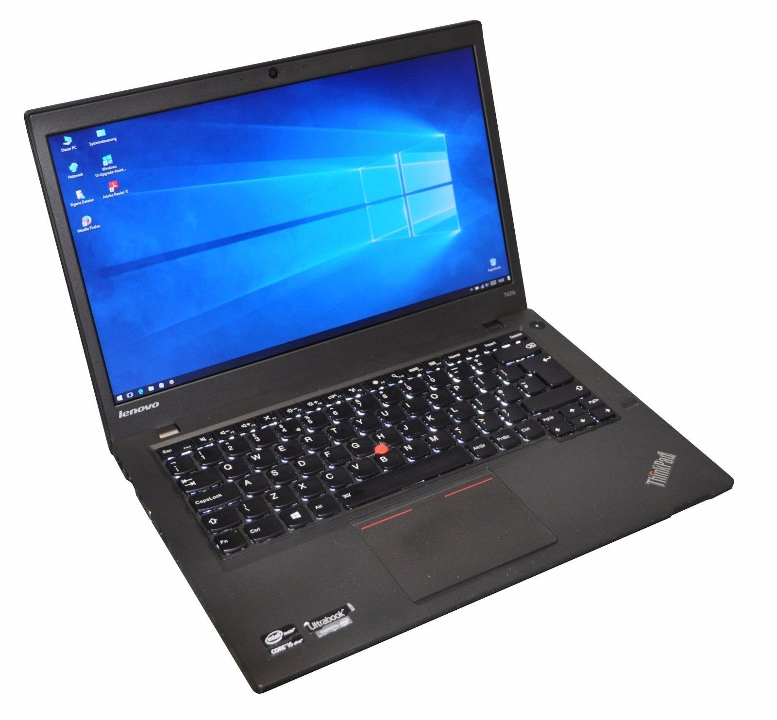 Lenovo ThinkPad T431s i5 3437U 8GB 180GB SSD 1600x900 HD+ Win 10 Tast. Bel.