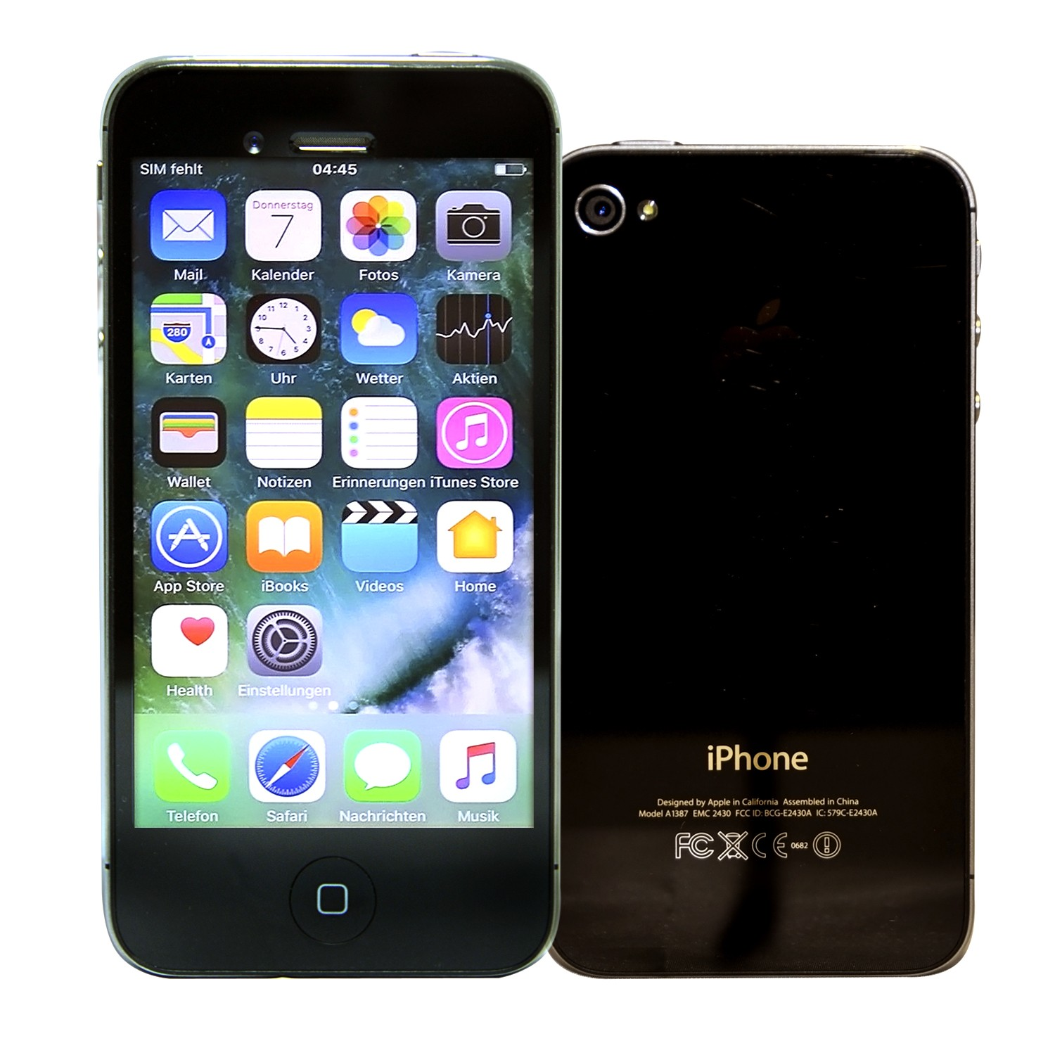 apple iphone 4s 16gb schwarz smartphone ohne simlock. Black Bedroom Furniture Sets. Home Design Ideas