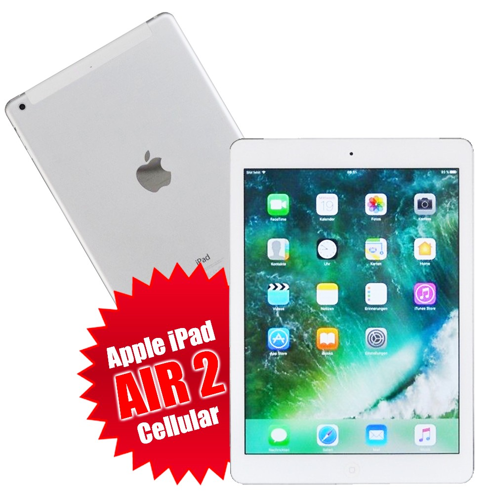 apple ipad air 2 64gb wi fi 4g cellular gebraucht g nstig. Black Bedroom Furniture Sets. Home Design Ideas