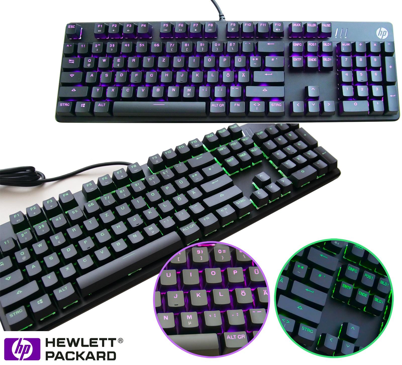 gaming tastatur keyboard beleuchtung mechanisch