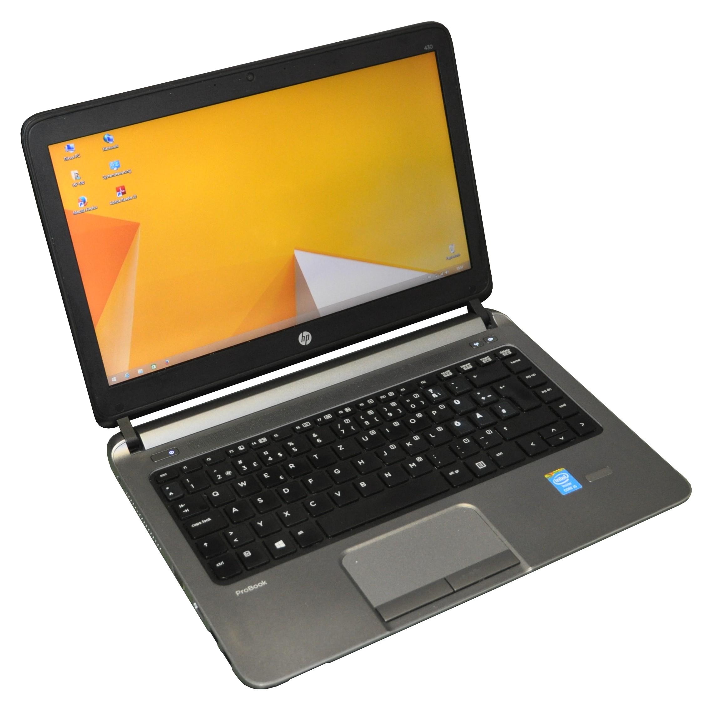 HP ProBook 430 G1 Core i5 4300U 1.9GHz 4GB 128GB SSD CAM BLT HDMI USB3.0 Win 8