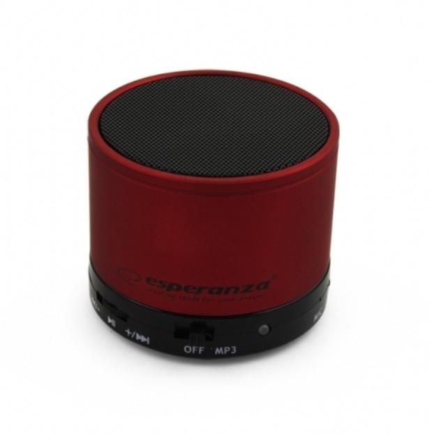MINI WIRELESS BLUETOOTH LAUTSPRECHER SOUND BOX RADIO MP3 ROT
