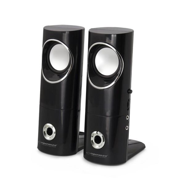 Stereo Lautsprecher Multimedia USB Paar Boxen PC Computer Laptop