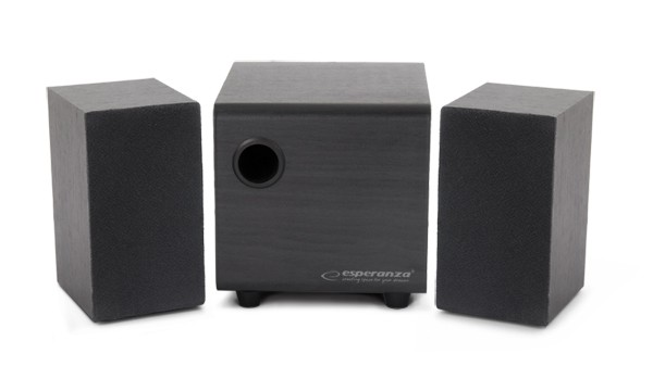 2.1 Lautsprecher System mit Subwoofer USB Stereo Multimedia