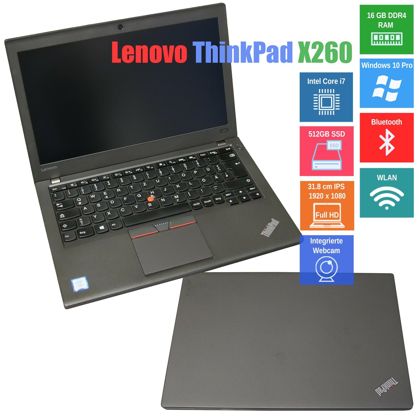 Notebook Lenovo ThinkPad X260