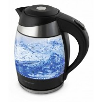 Wasserkocher Glas bis 2200W 1,8L LED Beleuchtung Teekocher Kabelloss