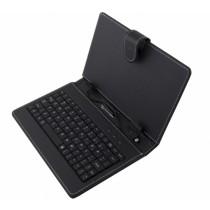 """Micro USB Tastatur Tasche Hülle Cover für 7,85"""" (19,9 cm) Tablet"""