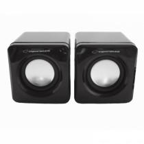 2.0 Mini Stereo Lautsprecher Multimedia USB Paar Boxen PC Computer Laptop