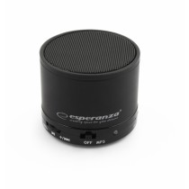 MINI WIRELESS BLUETOOTH LAUTSPRECHER SOUND BOX RADIO MP3 SCHWARZ