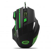 Optische Gaming Maus  7 Tasten PC 2400 DPI USB LED Beleuchtung für Spieler MX201G