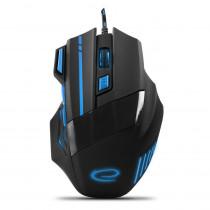 Optische Gaming Maus 7 Tasten PC 2400 DPI USB LED Beleuchtung für Spieler MX201B