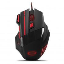 Optische Gaming Maus  7 Tasten PC 2400 DPI USB LED Beleuchtung für Spieler MX201R