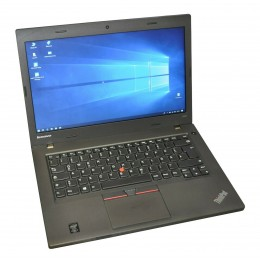 "Lenovo ThinkPad L450 14"" i5 5300U 2,3GHz 8GB DDR3 RAM 256GB SSD Win 10 DE"