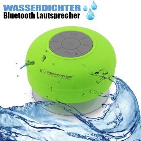 Wasserfester Bluetooth Lautsprecher, kabellos, grün