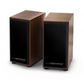 2 x 3W USB Stereo Lautsprecher Multimedia Paar Boxen PC Computer Laptop