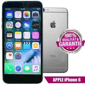 Apple iPhone 6 64GB Spacegrau Smartphone (Ohne Simlock)