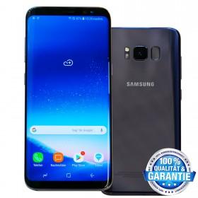 Smartphone Samsung Galaxy S8 gebraucht, 64GB, ohne Vertrag / Simlock, Orchid Grey (Grau)