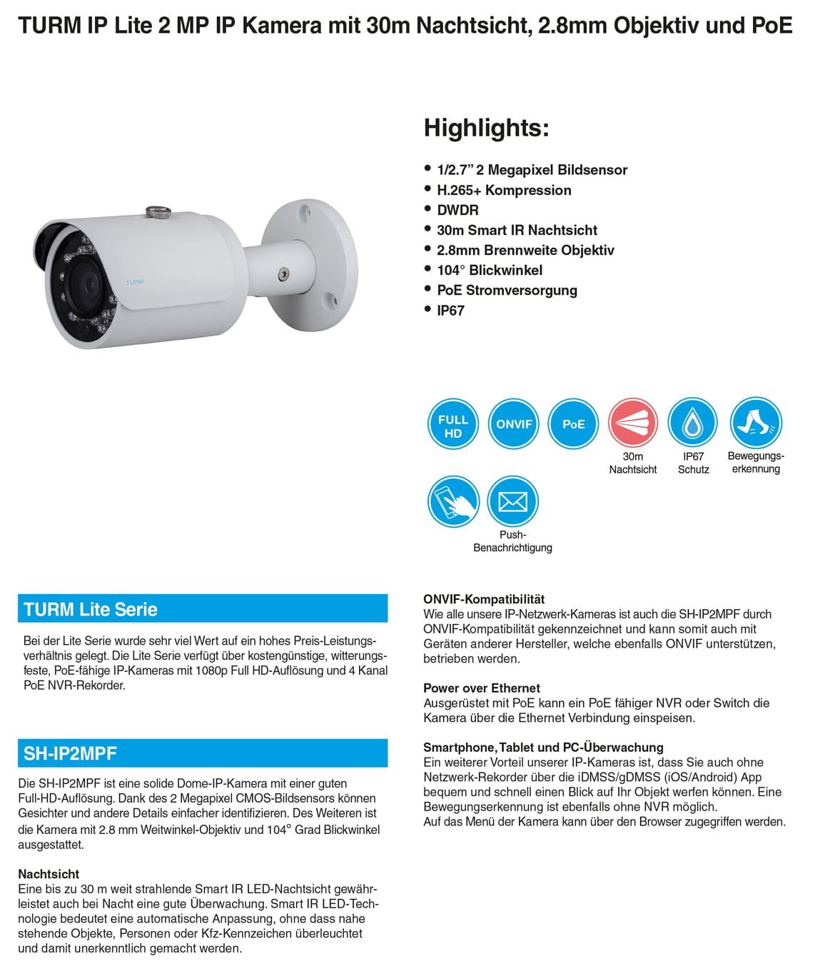 poe kamera überwachung